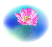De bloem van Lotus stock illustratie