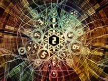 De Bloem van Symbolische Betekenis Stock Foto