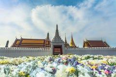 de bloem voor bidt aan de Koning Royalty-vrije Stock Afbeelding