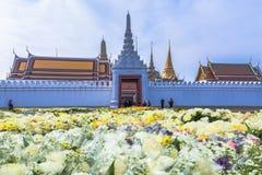de bloem voor bidt aan de Koning Stock Fotografie