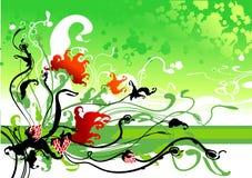 De bloemAchtergrond van de lente stock illustratie