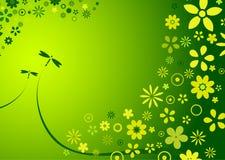 De bloemachtergrond van de lente Stock Afbeeldingen