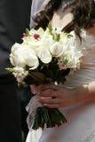 De bloemboeket van het huwelijk Stock Foto