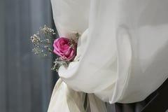 De bloemdecoratie van het huwelijk Stock Foto