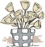 De bloemen Vector Illustratie