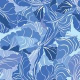 De bloemen Abstracte Naadloze Achtergrond van de Kunst Royalty-vrije Stock Fotografie