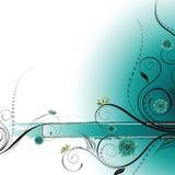 De bloemen Achtergrond van het Ontwerp Stock Afbeeldingen