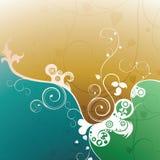 De bloemen Achtergrond van het Ontwerp Stock Foto's
