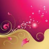 De bloemen Achtergrond van het Ontwerp Royalty-vrije Stock Afbeeldingen