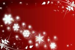 De bloemen achtergrond van Kerstmis Stock Illustratie