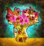 De bloemen in de open plek Royalty-vrije Stock Afbeeldingen