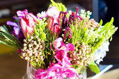 De bloemen in een vaas Royalty-vrije Stock Foto