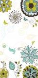 De bloemen en Achtergrond van de Aard voor Uw Tekst Stock Afbeelding