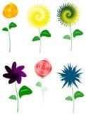 De bloemen Illustratie van het Ontwerp Stock Fotografie