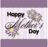 De Bloemen van de Dag van moeders Stock Foto's