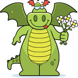 De Bloemen van de draak stock illustratie