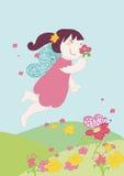 De bloemen van de fee Vector Illustratie