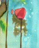 De bloemen van de lente in de weide Royalty-vrije Stock Afbeelding