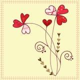 De bloemen van de liefde Stock Fotografie