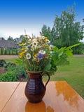 De bloemen van de midzomer Stock Foto's