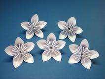 De Bloemen van de origami Royalty-vrije Stock Foto's