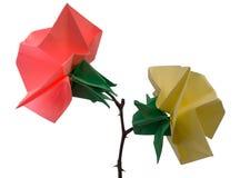 De bloemen van de origami Stock Foto's