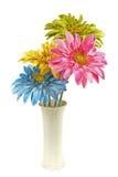 De Bloemen van de zijde Stock Foto's