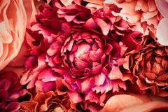 De bloemen van de zijde Royalty-vrije Stock Foto's
