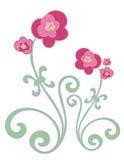 De Bloemen van Fuschia vector illustratie