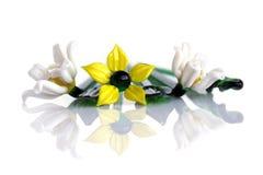 De bloemen van het glas royalty-vrije stock afbeeldingen