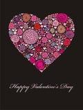 De bloemen van het hart Royalty-vrije Stock Foto's
