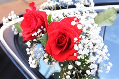 De bloemen van het huwelijk Royalty-vrije Stock Afbeeldingen