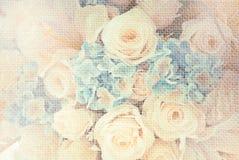 De bloemen van het huwelijksboeket Royalty-vrije Stock Foto's