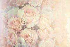 De bloemen van het huwelijksboeket Stock Foto