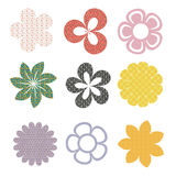 De bloemen van het patroon Royalty-vrije Stock Fotografie