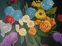 De bloemen van het stilleven Stock Afbeeldingen