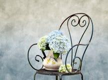 De Bloemen van Hortensia stock foto's