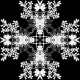 De bloemen vectorillustratie eps10 van het patroonornament Royalty-vrije Stock Foto