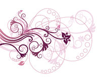 De bloemen vectorillustratie van het ontwerpelement Royalty-vrije Stock Fotografie