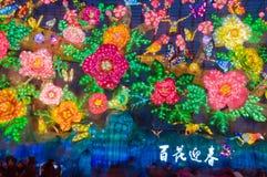 De bloemen zijn in bloei Royalty-vrije Stock Afbeelding