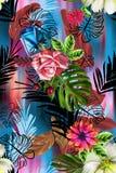 De bloemen zijn volledig van Romaans, royalty-vrije illustratie