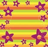 De bloemenachtergrond van de herfst Royalty-vrije Stock Foto