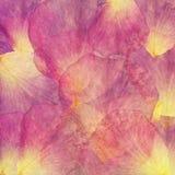 De bloemenachtergrond van de kunst grunge batik Stylizationpastelkleuren, waterverf Uitstekende geweven achtergrond met rood roze Stock Afbeelding