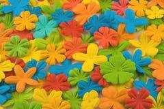 De bloemenachtergrond van de zomer Stock Afbeelding