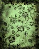 De bloemenachtergrond van Grunge Stock Foto