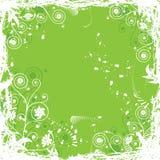 De bloemenachtergrond van Grunge, vector Stock Foto