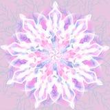 De bloemenachtergrond van het sprookje Stock Fotografie