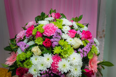 De bloemenboeket van het huwelijk Royalty-vrije Stock Fotografie