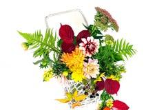 De bloemenboeketten van de herfst royalty-vrije stock fotografie