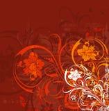De bloemenchaos van Grunge Royalty-vrije Stock Afbeelding